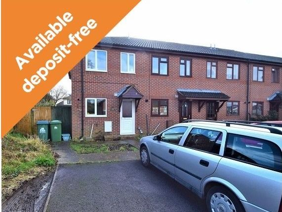 Thumbnail End terrace house to rent in Dempsey Close, Southampton