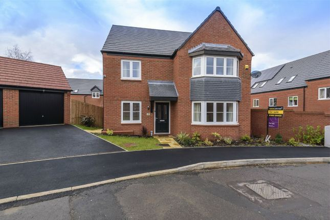 Thumbnail Detached house for sale in Buxus Road, Hadley, Telford, Shropshire
