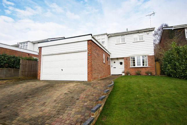 Thumbnail Detached house for sale in Heather Grove, Hartley Wintney