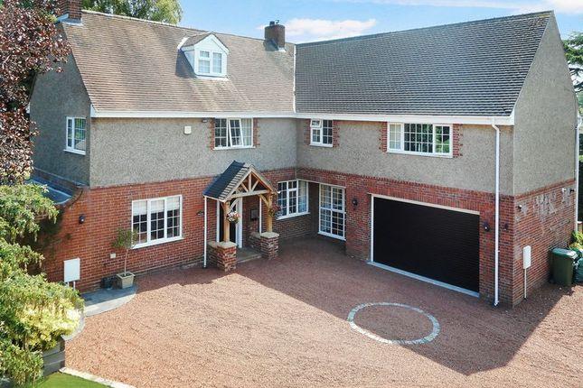 Thumbnail Detached house for sale in Bishops Lane, Market Drayton