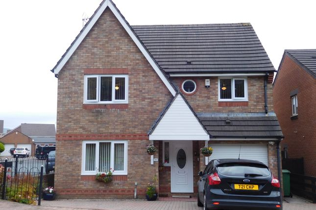 Thumbnail Detached house for sale in Cae Nant Gledyr, Mountain View, Caerphilly