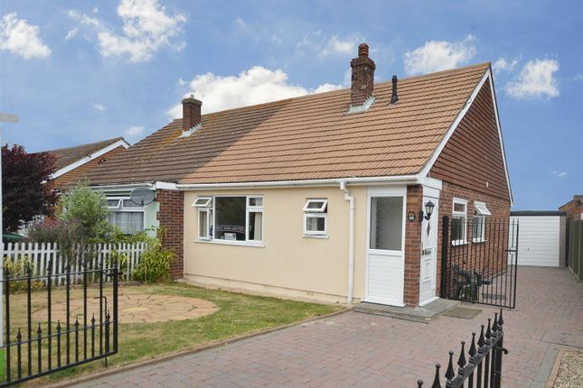 Thumbnail Semi-detached bungalow to rent in Hawthorn Road, Clacton-On-Sea