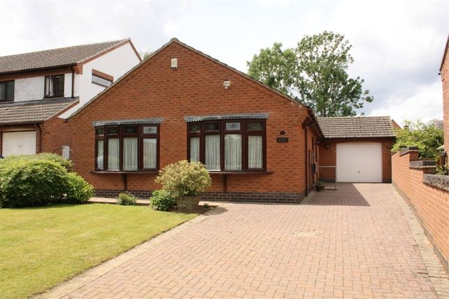 Thumbnail Detached bungalow for sale in Holly Tree Walk, Claybrooke Magna, Lutterworth