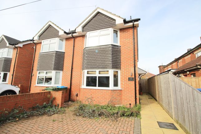 Thumbnail Semi-detached house for sale in Leighton Road, Southampton