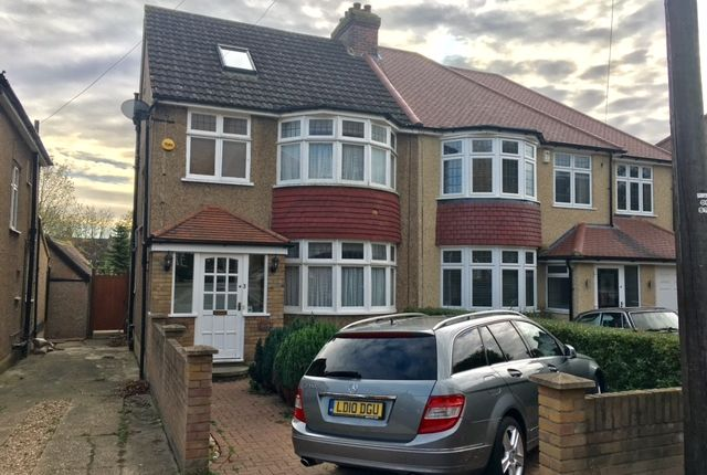 Thumbnail Semi-detached house for sale in Hemingford Road, Cheam