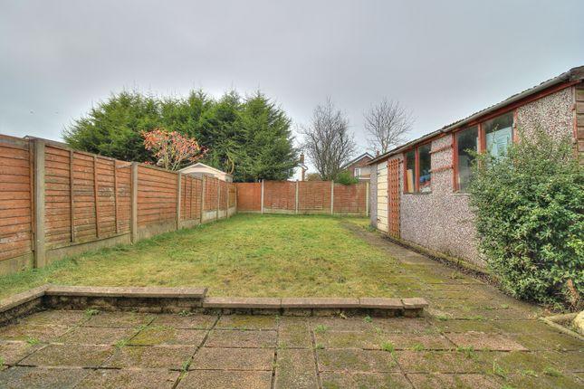 Rear Garden of Barnsfold, Fulwood, Preston PR2