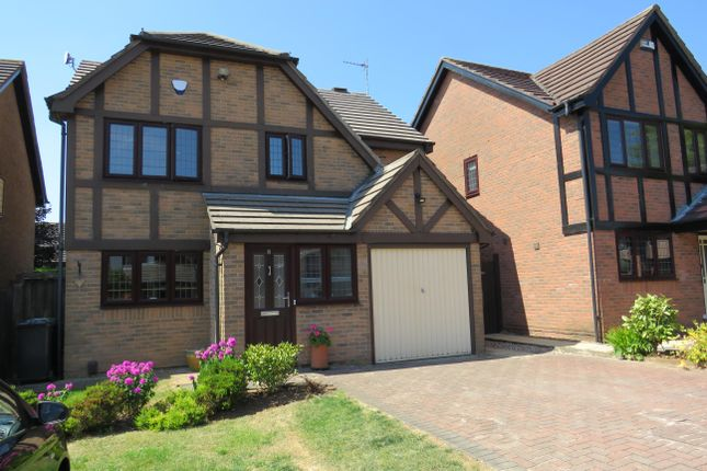 Thumbnail Detached house to rent in Chigwell Close, Nuthall, Nottingham