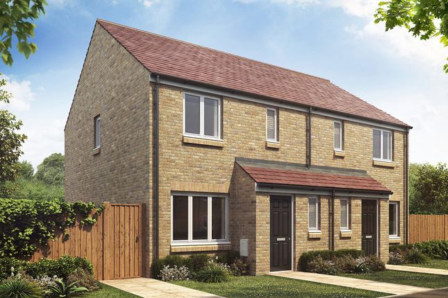 """3 bed semi-detached house for sale in """"The Hanbury"""" at Hartburn, Morpeth NE61"""