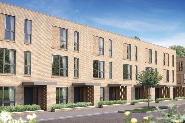 "Thumbnail Terraced house for sale in ""The Peter"" at Whittle Avenue, Trumpington, Cambridge"