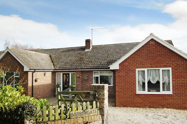 Thumbnail Detached bungalow for sale in Barrowgates, Roecliffe, York