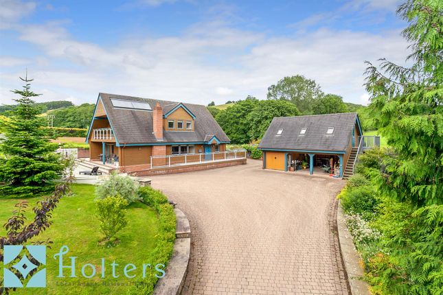 Thumbnail Detached house for sale in Thistle Brook, Norton, Presteigne