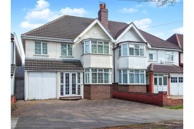 Thumbnail Semi-detached house for sale in Shirley Road, Birmingham