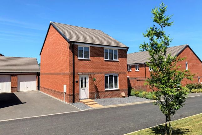 Thumbnail Detached house to rent in Lace Crescent, Tiverton