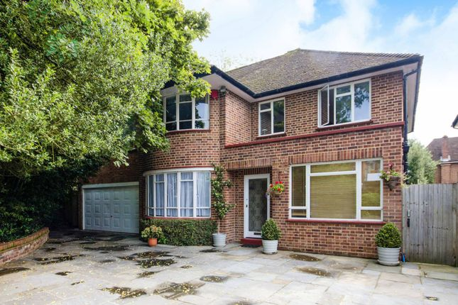 Thumbnail Detached house for sale in Village Road, Bush Hill Park