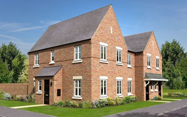 Thumbnail Detached house for sale in The Capesthorpe, Trinity Gardens, Ling Road, Loughborough