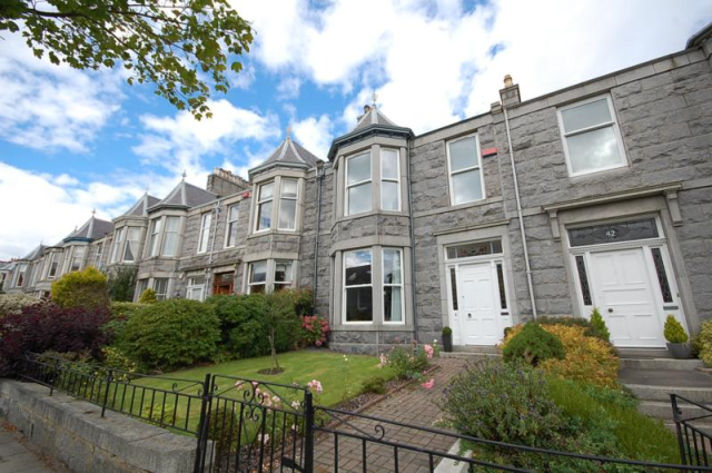 Thumbnail Terraced house to rent in Gladstone Place, Aberdeen, 6Xa