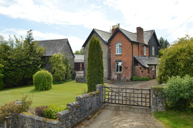 Thumbnail Detached house for sale in Presteigne - Powys, Wales