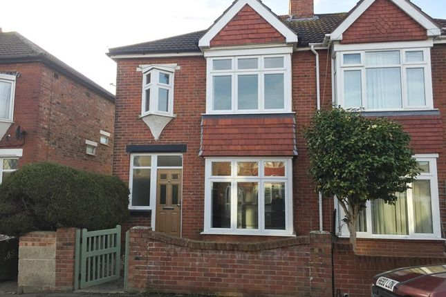 Thumbnail Semi-detached house to rent in Kensington Road, Gosport
