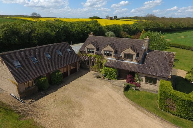 Thumbnail Farmhouse for sale in Castle Bytham, Grantham