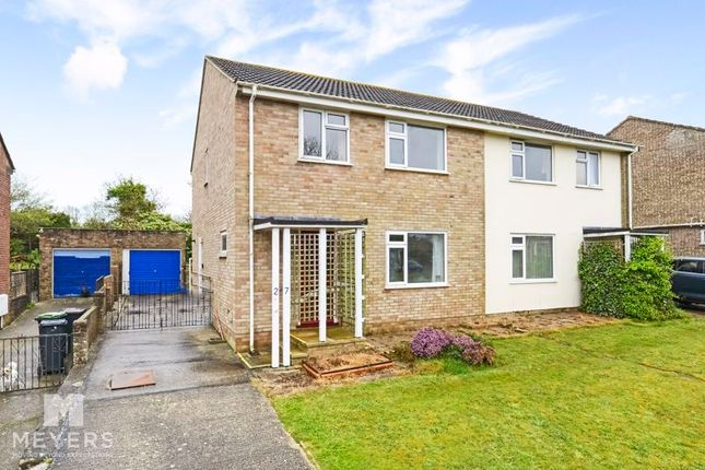 3 bed semi-detached house for sale in Lower Hillside Road, Wool BH20