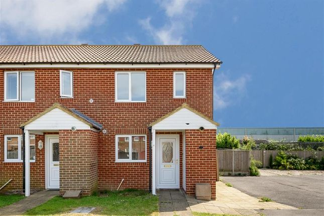 Thumbnail End terrace house for sale in The Meadows, New Romney