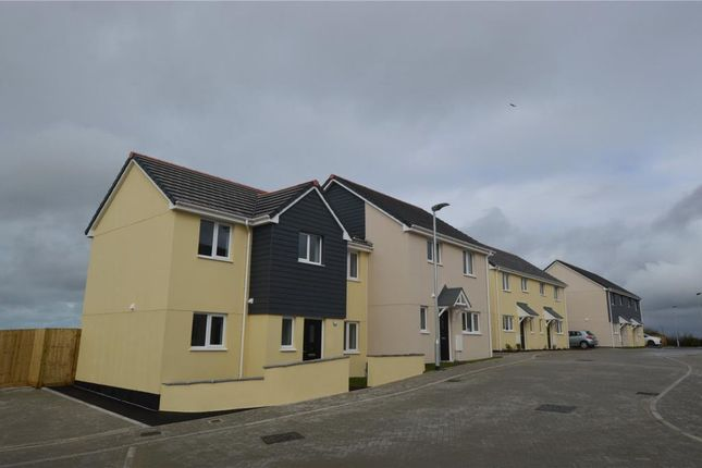 Thumbnail Semi-detached house for sale in Fraddon, St. Columb, Cornwall