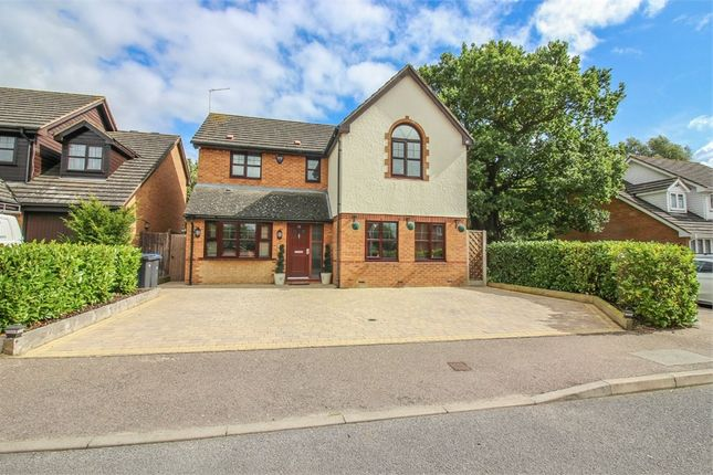 Thumbnail Detached house for sale in Burley Hill, Church Langley, Harlow, Essex