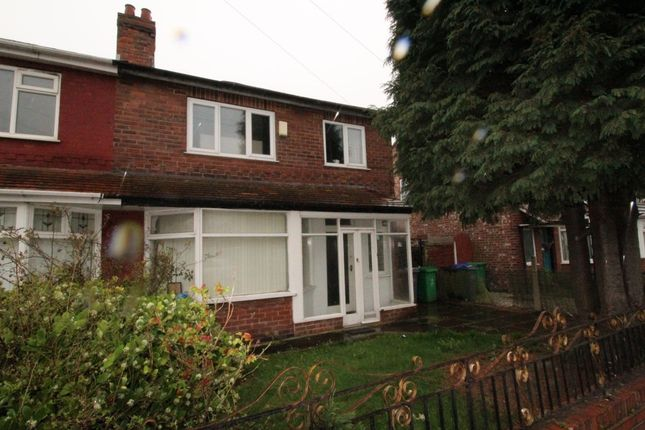 Thumbnail Semi-detached house for sale in Egerton Road South, Chorlton, Manchester