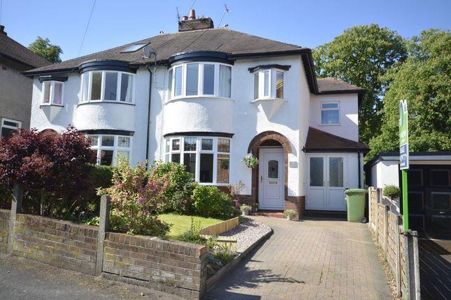 Thumbnail Semi-detached house for sale in Park Lane, Frodsham