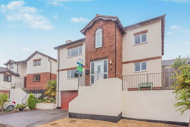 Thumbnail Detached house to rent in Meadow View, Ogwell, Newton Abbot