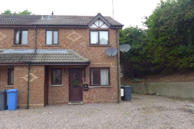 Thumbnail 1 bed end terrace house to rent in Rosevale Meadows, Lisburn
