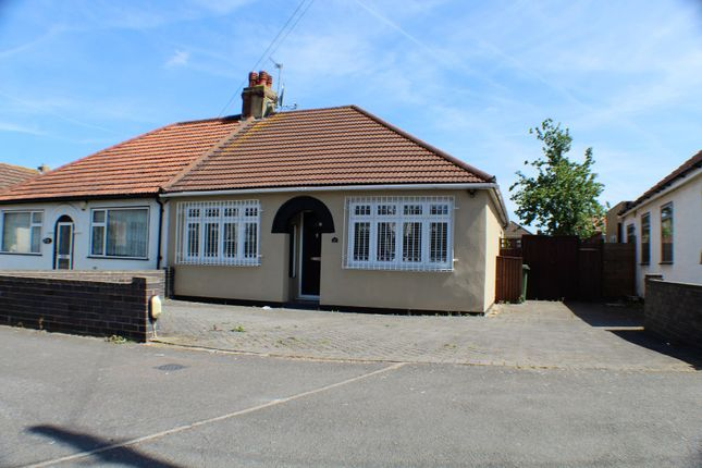 Thumbnail Semi-detached bungalow for sale in Edison Road, Welling