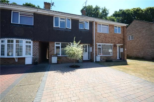 Thumbnail Terraced house for sale in Lynwood Drive, Mytchett, Camberley