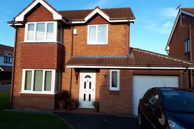 Thumbnail Detached house to rent in Lon Bedw, Rhyl