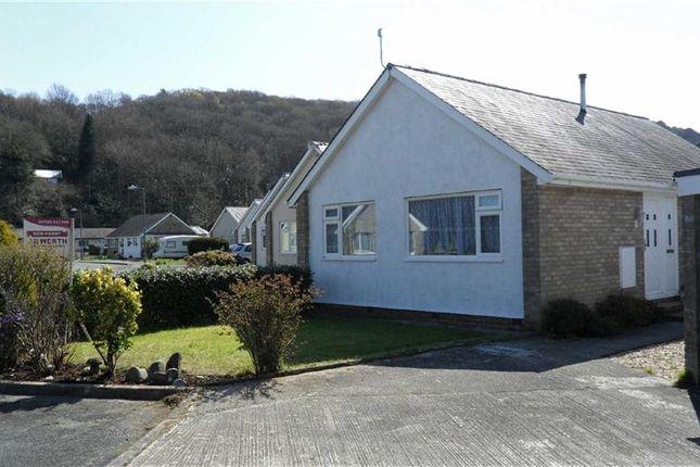 Thumbnail Detached bungalow for sale in Maes Trefor, Talsarnau, Gwynedd