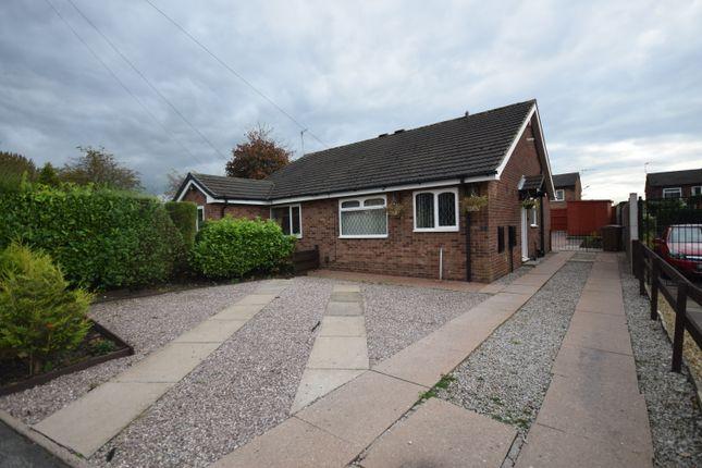Thumbnail Semi-detached bungalow to rent in Tutbury Grove, Longton, Stoke-On-Trent