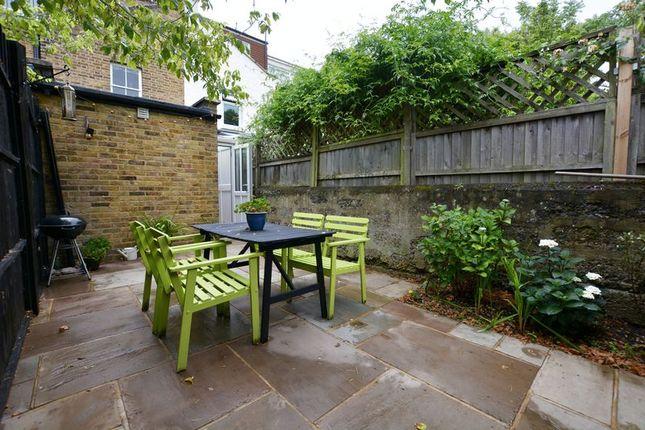 Garden of Garden Flat, Kingston Road, Teddington TW11