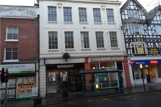 Thumbnail Commercial property for sale in Investment Opportunity, Toni & Guy, 37 Castle Street, Shrewsbury, Shrewsbury, Shropshire
