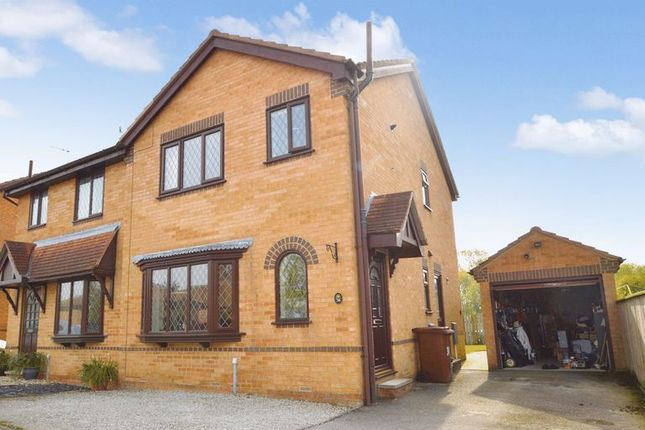 Thumbnail Semi-detached house for sale in Marshall Drive, Pickering