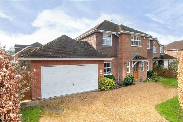 Thumbnail Detached house for sale in Albany Road, Fleet