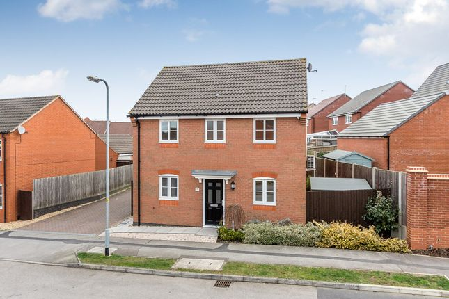 Thumbnail Detached house for sale in Willmott Road, Rushden