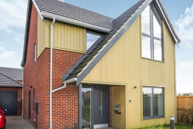 Thumbnail Detached house for sale in Conroy Close, Sprowston, Norwich
