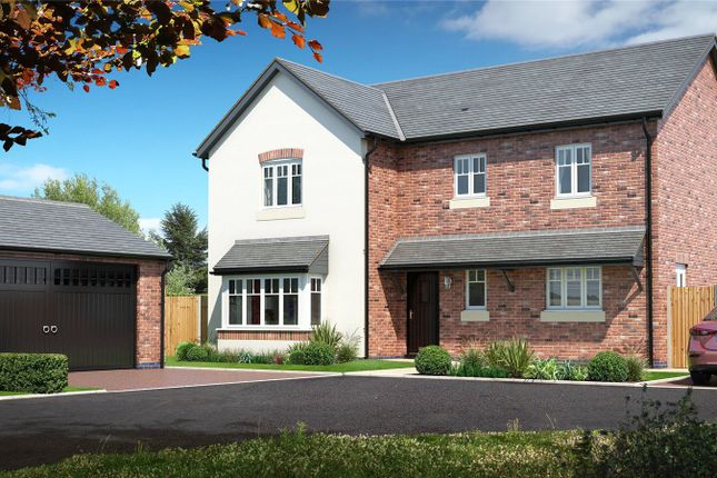 Detached house for sale in Plot 5 Hunters Chase, Bryn Perthi, Arddleen, Powys