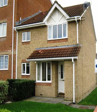 Thumbnail End terrace house to rent in Barnum Court, Swindon, Wiltshire