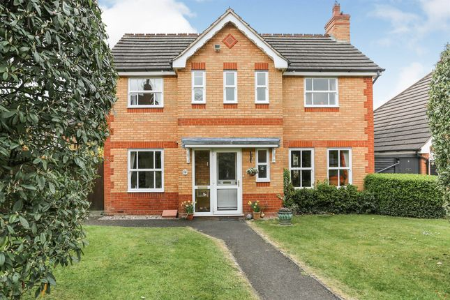 Thumbnail Detached house for sale in Woodperry Avenue, Solihull