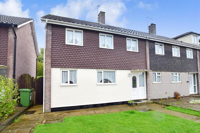 Thumbnail End terrace house for sale in Roseberry Gardens, Upminster, Essex
