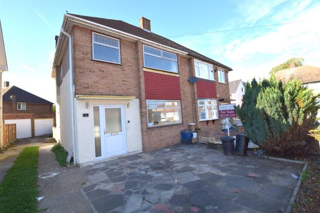 Thumbnail Semi-detached house for sale in Chafford Way, Chadwell Heath, Romford