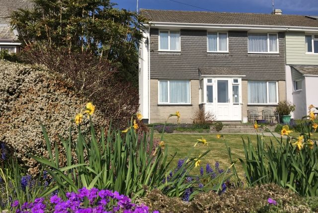 Thumbnail Semi-detached house for sale in Egloshayle Road, Wadebridge