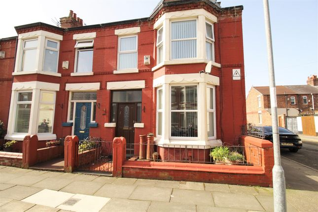 Thumbnail End terrace house to rent in Nelville Road, Walton, Liverpool
