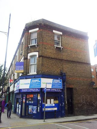 Thumbnail Commercial property for sale in 49 Roman Road, Bethnal Green, London
